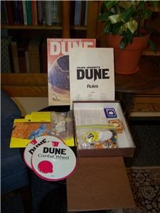 Frank Herberts Role Playing Game Dune from 1979 Complete