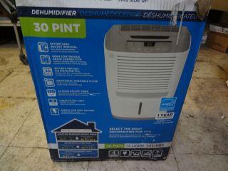 Frigidaire 30 Pint Energy Star Dehumidifier LAD304NUL