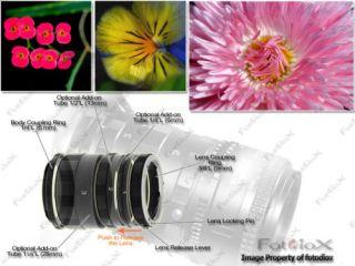 Serie de Anillos de Extension de Nikon FM2 FM2n FM10