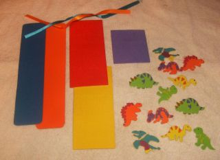 Foam Craft Kit Bookmarks for Boys and Girls 2 per Kit