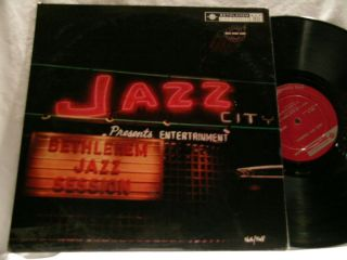 Jazz City Presents Frank Rosolino Clora Bryant DG LP