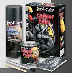 Dupli Color Yellow Brake Caliper Paint Kit with Ceramic