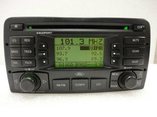 03 04 Ford Focus Radio Stereo CD Player MP3 Blaupunkt