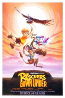 The Three Caballeros The Rescuers Down Under 2 VHS 012257091038