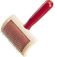 Franks Original Universal Dog Grooming Slicker Brush