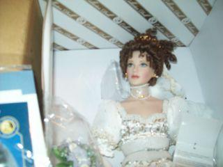 Franklin Mint Natalia Faberge Spring Bride Porcelain Doll