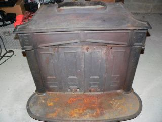Franklin Wood Burning Stove Cast Iron No Reserve