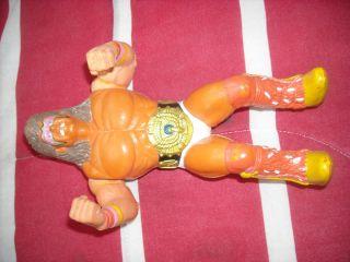 WWF Superstar Water Pumper Squirt Gun Ultimate Warrior Action Figure