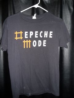 Mode Tour Shirts Lot Large Small Exciter Universe Dave Gahan Gore Rare