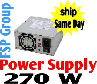 FSP Group 270W Micro ATX Power Supply FSP270 50SNV 9PA2700105