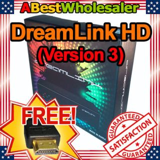 2012 DreamLink HD V3 Digital FTA Satellite Receiver Dream Link + FREE
