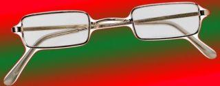 Square Santa Claus Ben Franklin Glasses Christmas