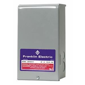 Franklin Water Pump Motor Control Box 3 Wire Submersible Well 1 2 HP