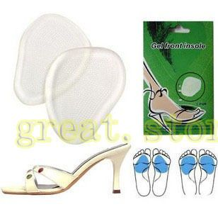Gel Shoe Insole Cushion Foot Care Protective Silicone Soft Pad