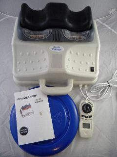 Sun Chi Vitalizer w Foot Massage Hip Disk Chi Machine