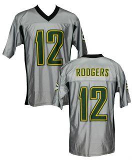 Bay Packers Rodgers 12 Reebok Dazzle Football Jerseys Flawed