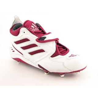 Power 2D Mens Size 16 White Cleats Football Baseball Cleats Shoes