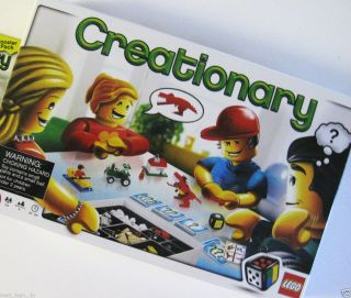 New Lego Creationary Game 3844 Board Games SEALED NISB 673419131223