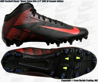 Nike Football Cleats Vapor Talon Elite 3 4 ID Sample 12 30cm Black