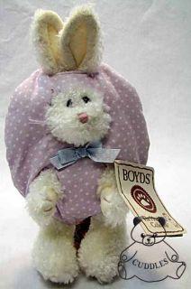 Plush Toy Bunny Rabbit Stuffed Animal Easter Egg Purple BNWT SM