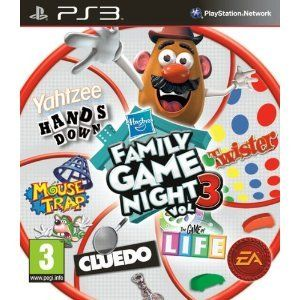 Hasbro Family Game Night 3 PS3 Game
