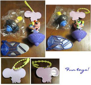 Fun Cereal Toys Powerpuff Girl & Johnny Bravo Spinners Anime RG Utena