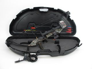 PSE Nova Game Sport Mossy Oak Compound Bow With Case RH 29/70