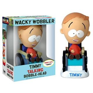 FUNKO TALKING WACKY WOBBLER SOUTH PARK TIMMY 8374