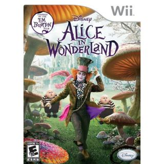 Alice in Wonderland for Nintendo Wii Game 2010 712725017187