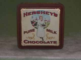 Hersheys Pure Milk Chocolate Collector Tin   1992 Edition #2