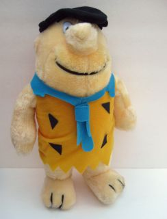 vintage FRED FLINTSTONE 14 plush stuffed toy 1989 NANCO HANNA BARBERA
