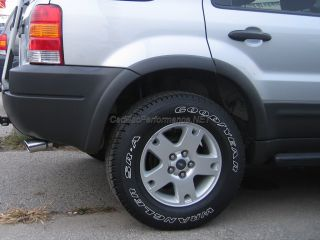 2001 2012 Ford Escape Polished Exhaust Muffler Tip