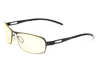 Gunnar Optiks Weezer Computer Gaming Glasses Minimize Eyestrain Onyx