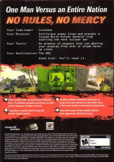 DMZ North Korea Vivendi PC Shooter Game New in Box 020626724142