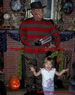 Animated Life Size Freddy Krueger from Nightmare on Elm Street