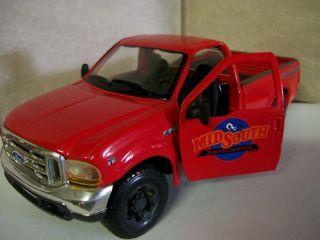 90s Ford F350 Super Duty Pickup Diecast 1 24