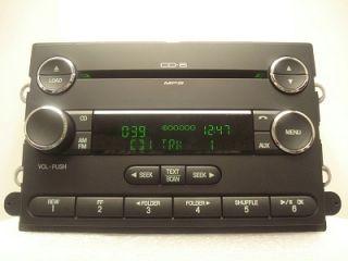Ford Fusion Milan  Aux Radio 6 Disc CD Changer 8E5T 18C815 DB 2007