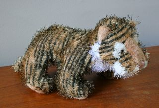 ganz soft needle plush tiger stuffed animal toy cute