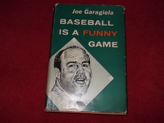 IS A FUNNY GAME 1960 FIRST EDITION HB BOOK BY JOE GARAGIOLA EXCELLENT