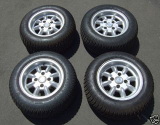 Four Ford Think Neighbor Rims Tires