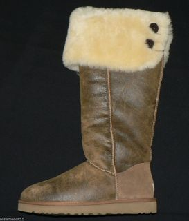UGG Australia Over The Knee Bailey Button Boots New Womens Size 10