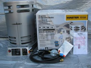 Master TC113A 40 80 000 BTU Propane Convection Heater 43593140739