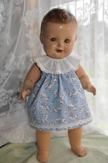 Freundlich 16 Composition BABY SANDY Uncommon doll deserves TLC