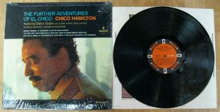 Further Adventures of El Chico LP MONO Impulse A 9114 Gabor Szabo