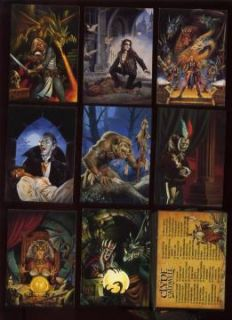 Clyde Caldwell 90 Card FPG Friedlander Fantasy Art Set
