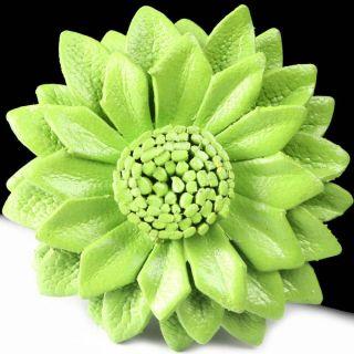 Green Garden Flower Layer Prey Fashion Design Ring