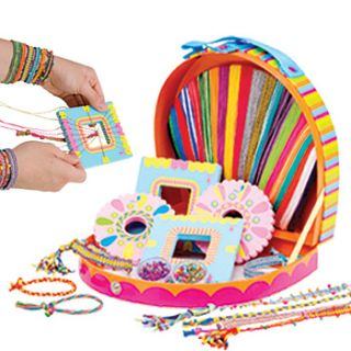 New Friendship Bracelet Making Craft Girl Accessory Kit