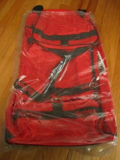 New Marlboro Gear Luggage Bag with Rollers Wheels Large Red