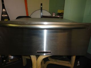 Kitchen Aid Warming Drawer Stainless Steel 27