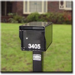 Fort Knox Locking Mailbox 1 4 Steel Extreme Duty